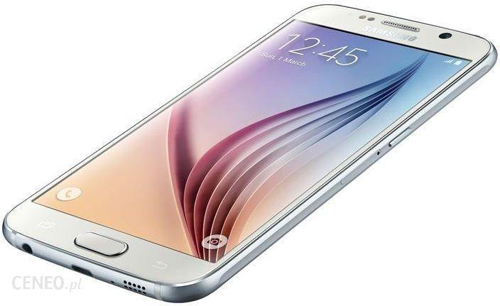 Samsung Galaxy S6 Sm G920f 64gb Bialy Cena Opinie Na Ceneo Pl