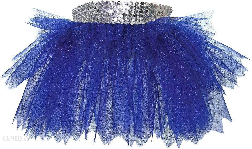 df97f5b0 Spódnica baletowa, tiulowa z cekinami i brokatem: ciemnoniebieska