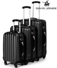 4afe86dfd0398 Zestaw walizek podróżnych 3w1 David Jones czarne