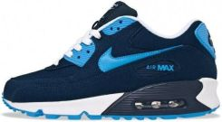 buty nike air max 90 granatowo-błękitne