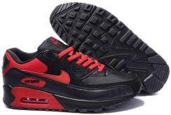 buty nike air max 90 jasnobrązowe/czarne/czerwone/białe