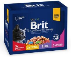 Brit Adult Family Plate Multipack 12x100g