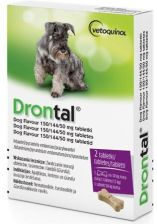 Bayer Drontal Plus Flavour 2 tabletki