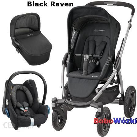 w zek maxi cosi mura 4 plus black raven g boko spacerowy. Black Bedroom Furniture Sets. Home Design Ideas
