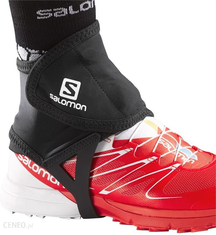 Stuptuty biegowe Salomon Trail Gaiters Low bright red