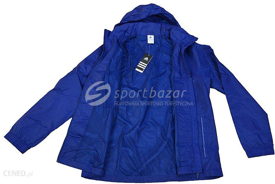 8113e6ddecb7 ... KURTKA ORTALIONOWA adidas CORE 15 RAIN JACKET granatowa roz L  S22277 -  zdjęcie 5 ...