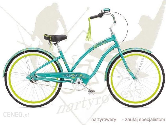 """Electra Dreamtime 3I Green 2015"" dviratis"