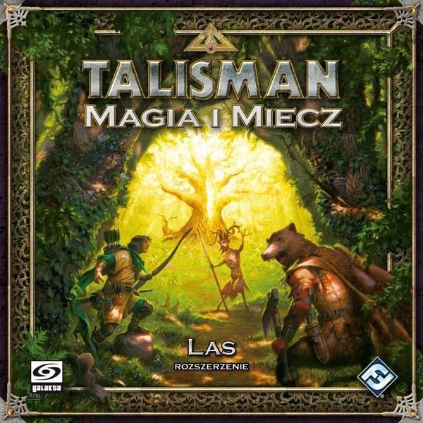"""Stalo žaidimas """"Talismanas: magija ir kardas - miškas"""""""