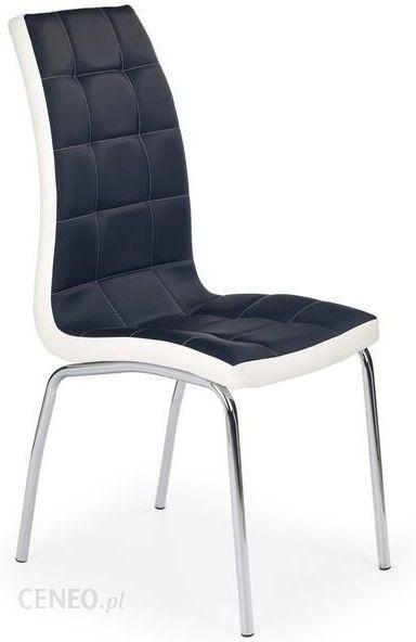 Halmar Krzesło K186 Czarno Białe