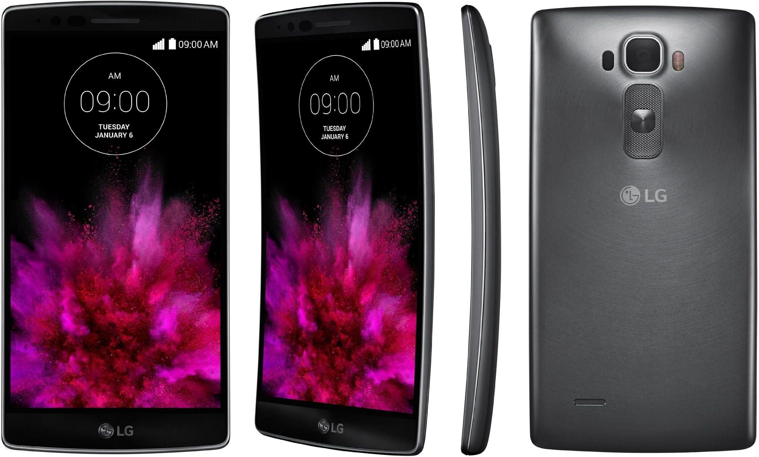 Smartfon LG G Flex2 H955 Srebrny zdjęcie 1