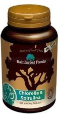 Rainforest Foods Chlorella & Spirulina Bio 500mg 300tabl.