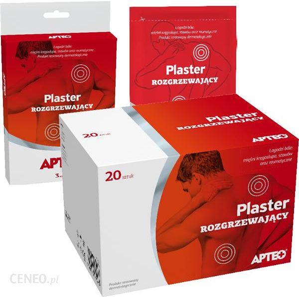 d0bd95ed1e8 Leki przeciwbólowe Plaster Rozgrzewający Apteo 20 Szt. - Opinie i ...