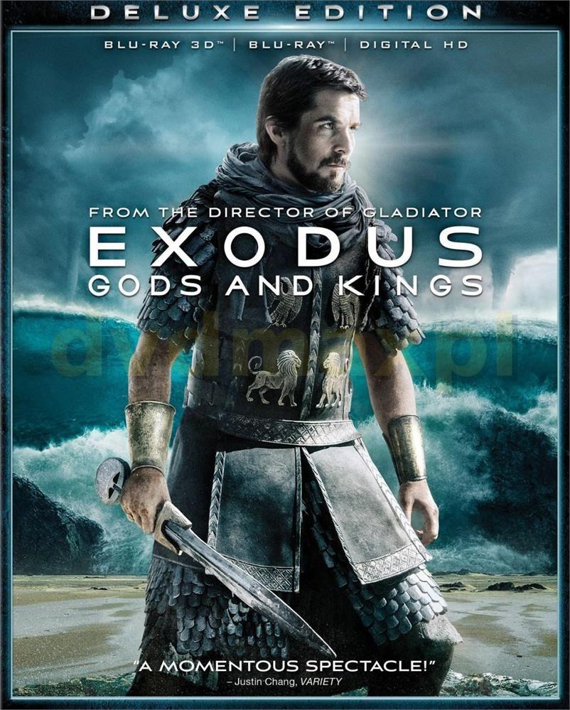 Exodus: Bogowie i Królowie 3D (Exodus: Gods and Kings 3D) (Blu-ray)