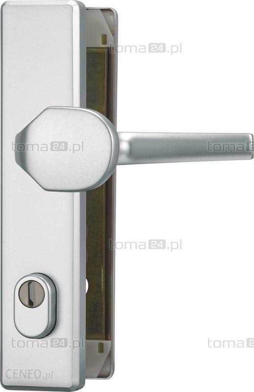 Nietypowy Okaz Abus Szyld Do Drzwi Zewnętrznych Hlzs 814 Prostokątny Z Pochwytem HW56