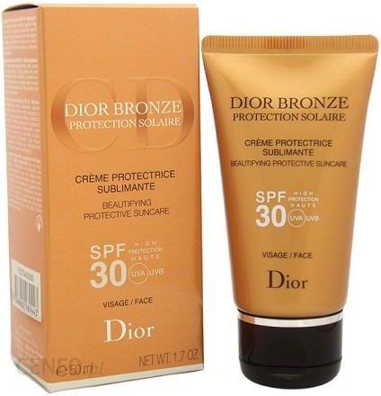 4f13e5f98 Preparat do opalania Christian Dior Bronze Protection Solaire Beautifying  Protective Suncare Spf 30 Face Krem Odmładzający