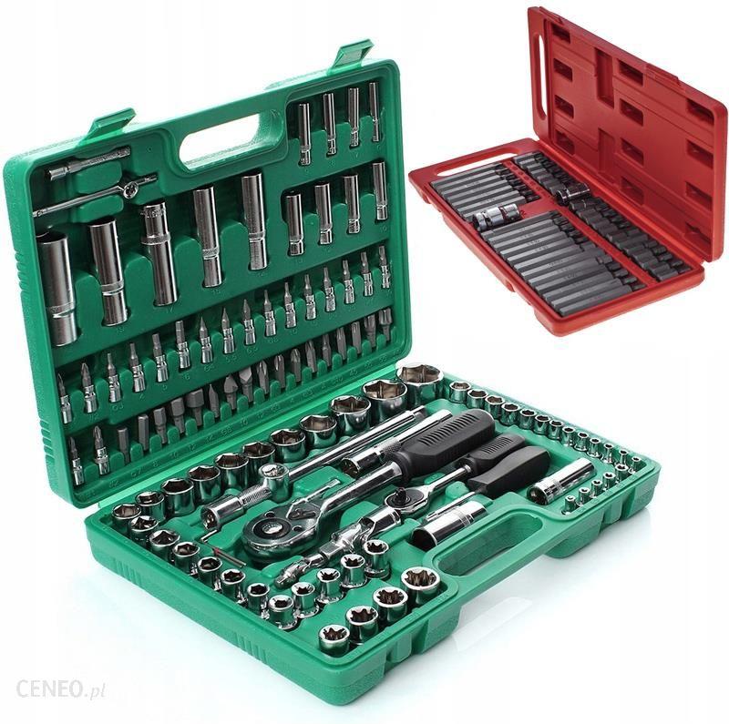 94cce0168474a8 Zestaw narzędziowy Tagred Klucze Nasadowe Torx Walizka Narzędziowa Zestaw  108 El (TA200) - zdjęcie