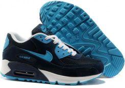 Buty Nike Air Max 90 NiebieskiBiałyGranatowy