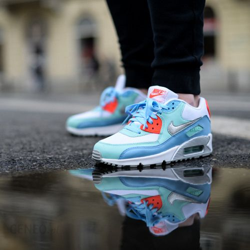 online store 47687 6d242 Buty Nike Air Max 90 Mesh (GS) quotLakesidequot (724855- ...