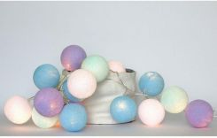 Cotton Ball Lights Baby lavender 35 szt 5465