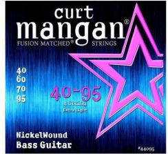 Curt Mangan 40-95 Nickel Wound Bass