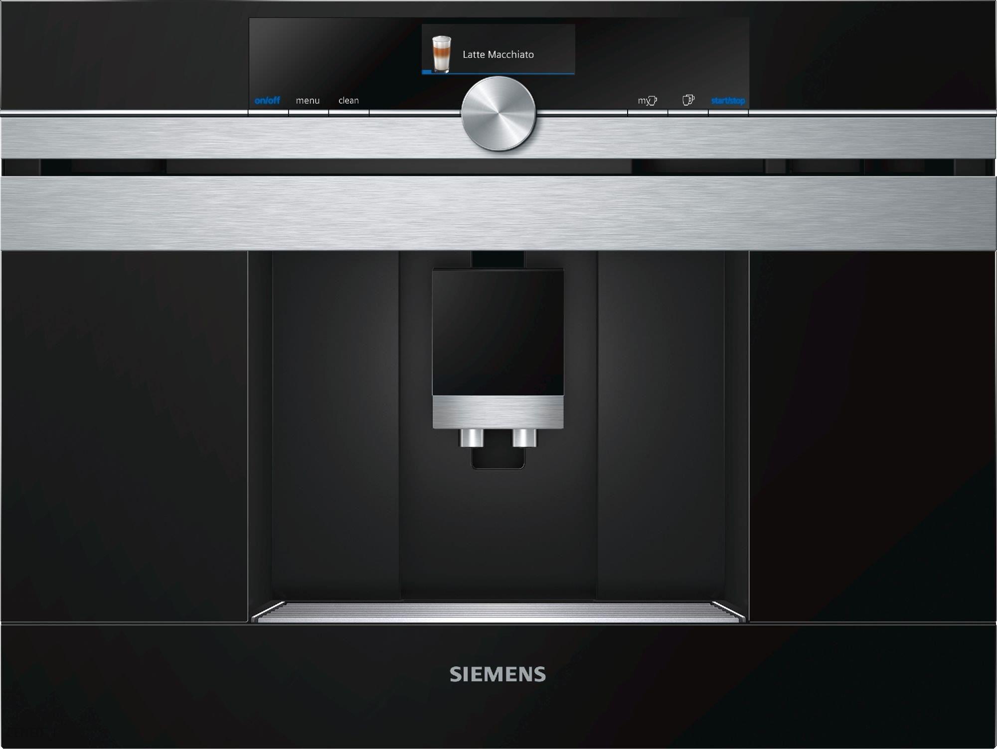 ekspres do zabudowy Siemens