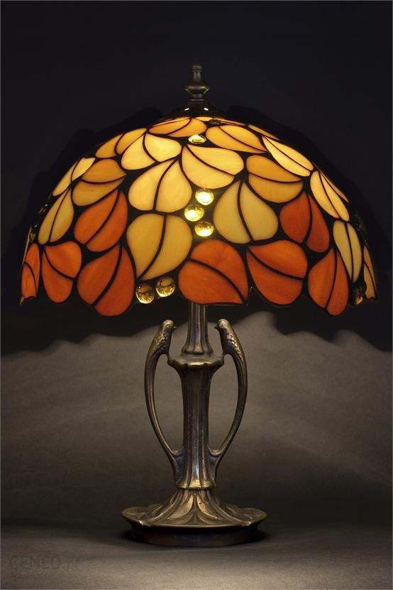 Lampa Witrażowa Tiffany Jesienne Liście Ceneo Pl