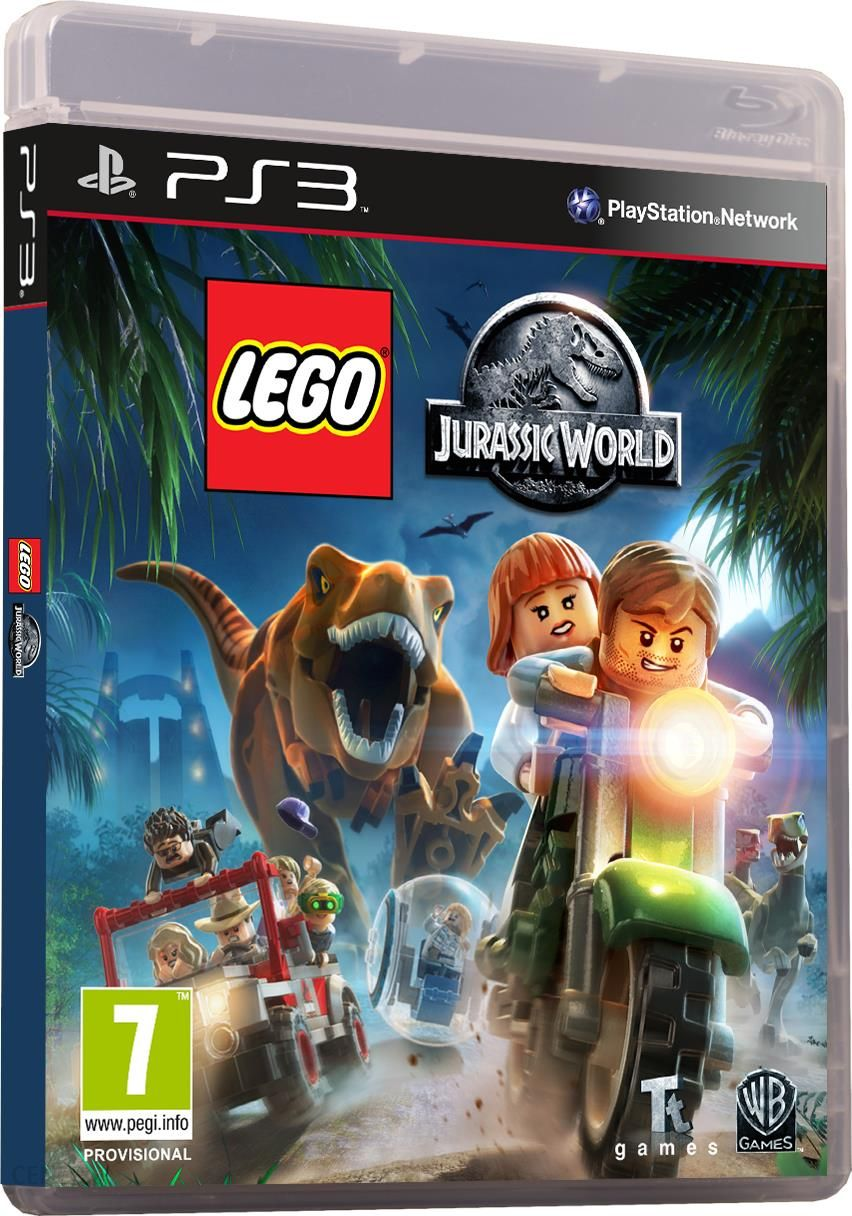 Lego Jurassic World Gra Ps3 Ceneopl