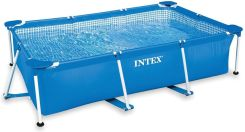 Intex Basen 2,6 x 1,6 x 0,65 m Metal Frame Rectangular 28271