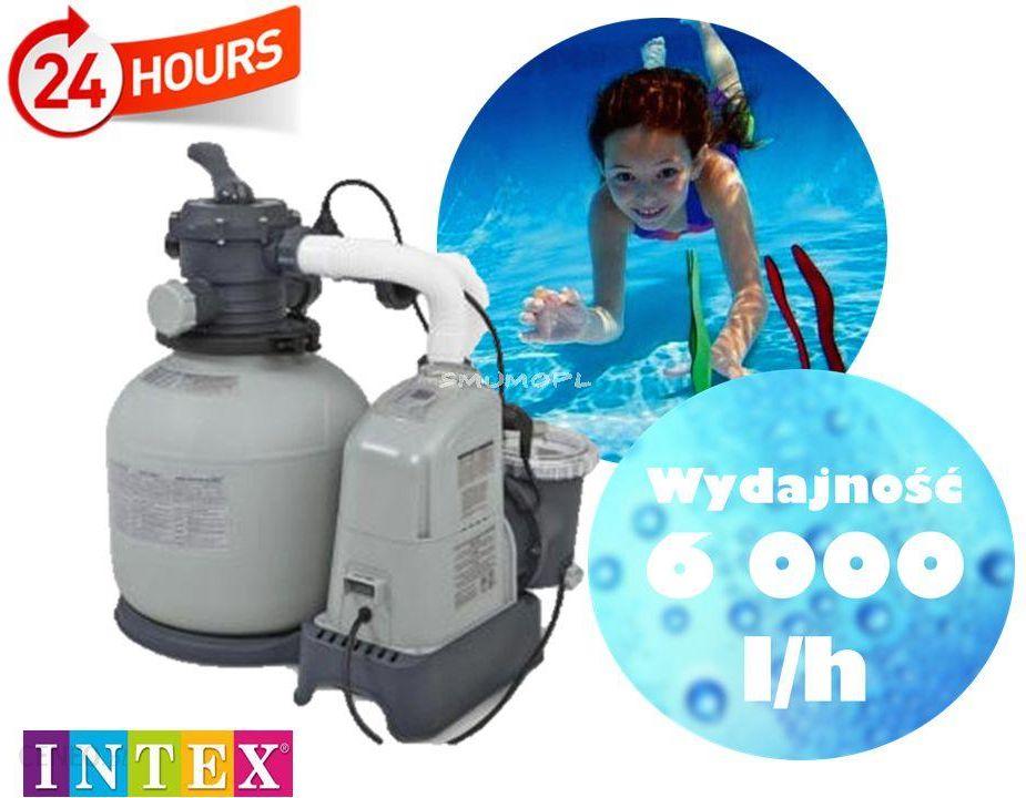 Intex Pompa Piaskowa Z Wbudowanym Generator Chloru 7 G H 28676 Ceny I Opinie Ceneo Pl