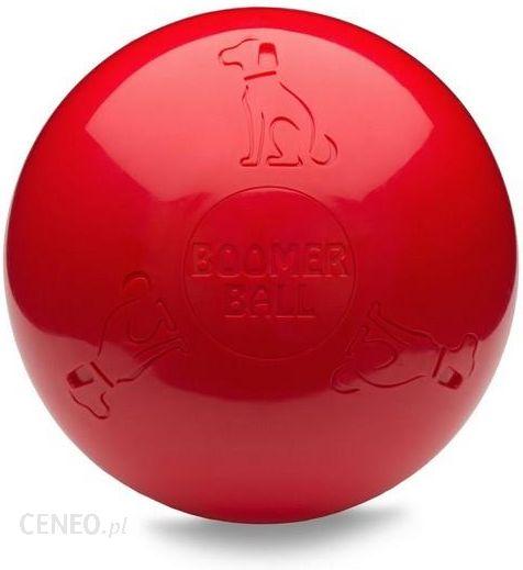 Boomer Ball Xl 10 25cm Czerwona Ceny I Opinie Ceneo Pl