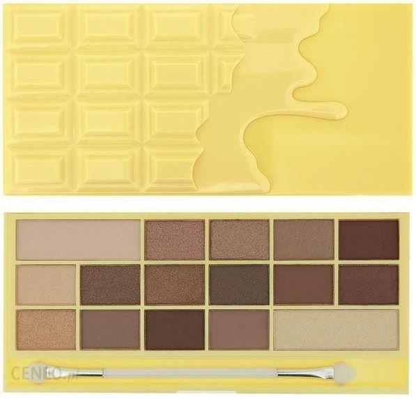 Wszystkie nowe Makeup Revolution Paleta Cieni Naked Chocolate 22g - Opinie i ceny EZ31