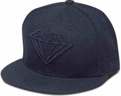 czapka z daszkiem DIAMOND - Brilliant Fitted Navy (NVY)