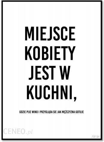 143bfdad3fbc89 Plakat Miejsce kobiety 50 x 70 cm - Opinie i atrakcyjne ceny na Ceneo.pl