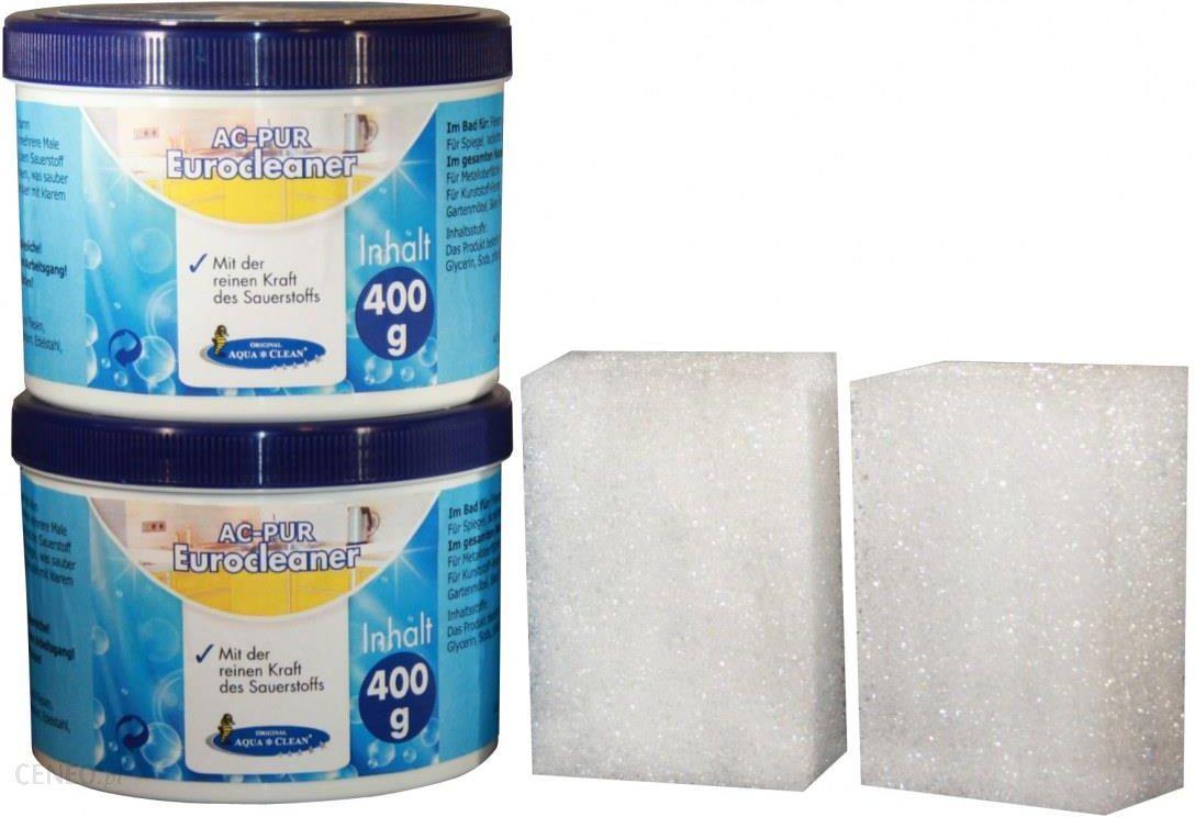 Aqua Clean Pasta Czyszczaca Eurocleaner 2x400 G 2 Gabki Opinie I Atrakcyjne Ceny Na Ceneo Pl