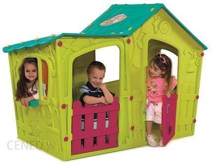 Keter Domek Ogrodowy Dla Dzieci Magic Villa 17190655 Ceny I Opinie Ceneo Pl