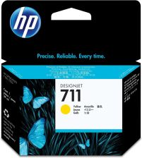 Hp 711 Do Designjet T120/520 Yellow (Cz132A)