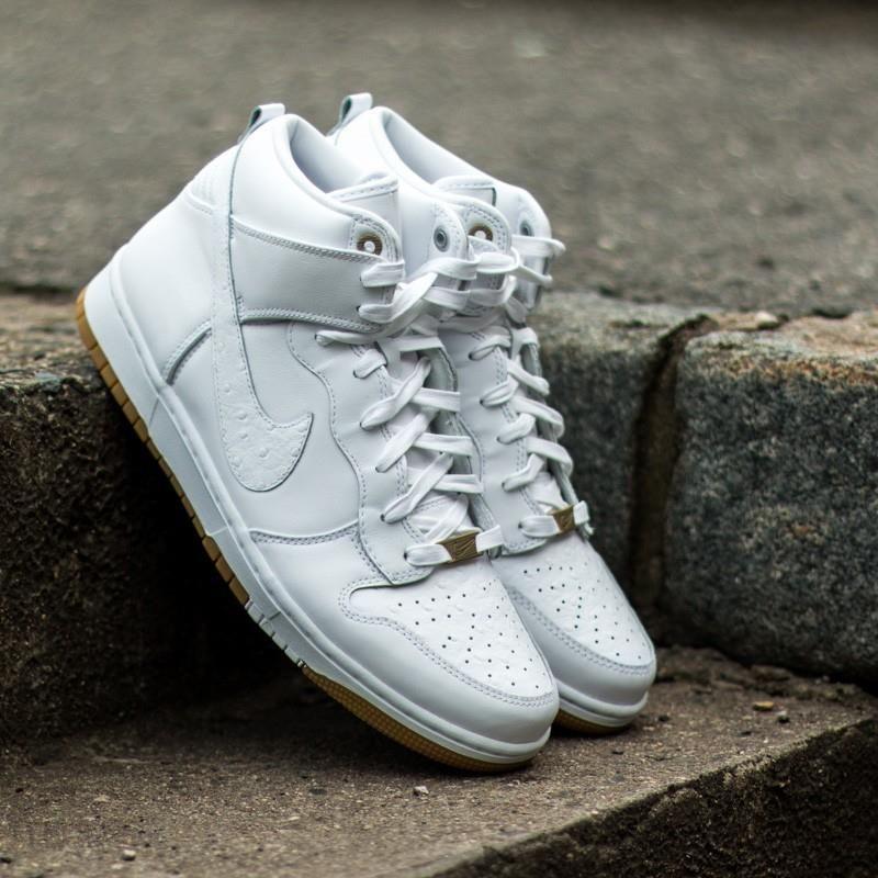 save off 83e7b 13f92 Nike Dunk Comfort Premium QS White - zdjęcie 1