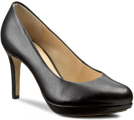 3219dade54071 Półbuty CLARKS - Kendra Sienna 261188434 Black Patent - Ceny i ...