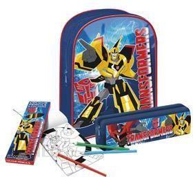 c3cecc52f33bc Starpak Zestaw Prezentowy Plecak i akcesoria Transformers 336130 - zdjęcie 1