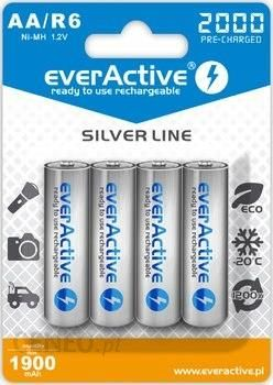 everActive 4x akumulatorki R6/AA Ni-MH 2000 mAh ready to use (1) (EVHRL6-2000)