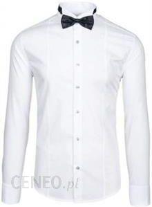 83fcc79f Bolf Koszula Męska 4702 Muszka+spinki Biała Biały