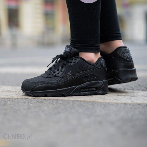 Buty Nike Air Max 90 Mesh (gs) 724824 001 czarne Ceny i