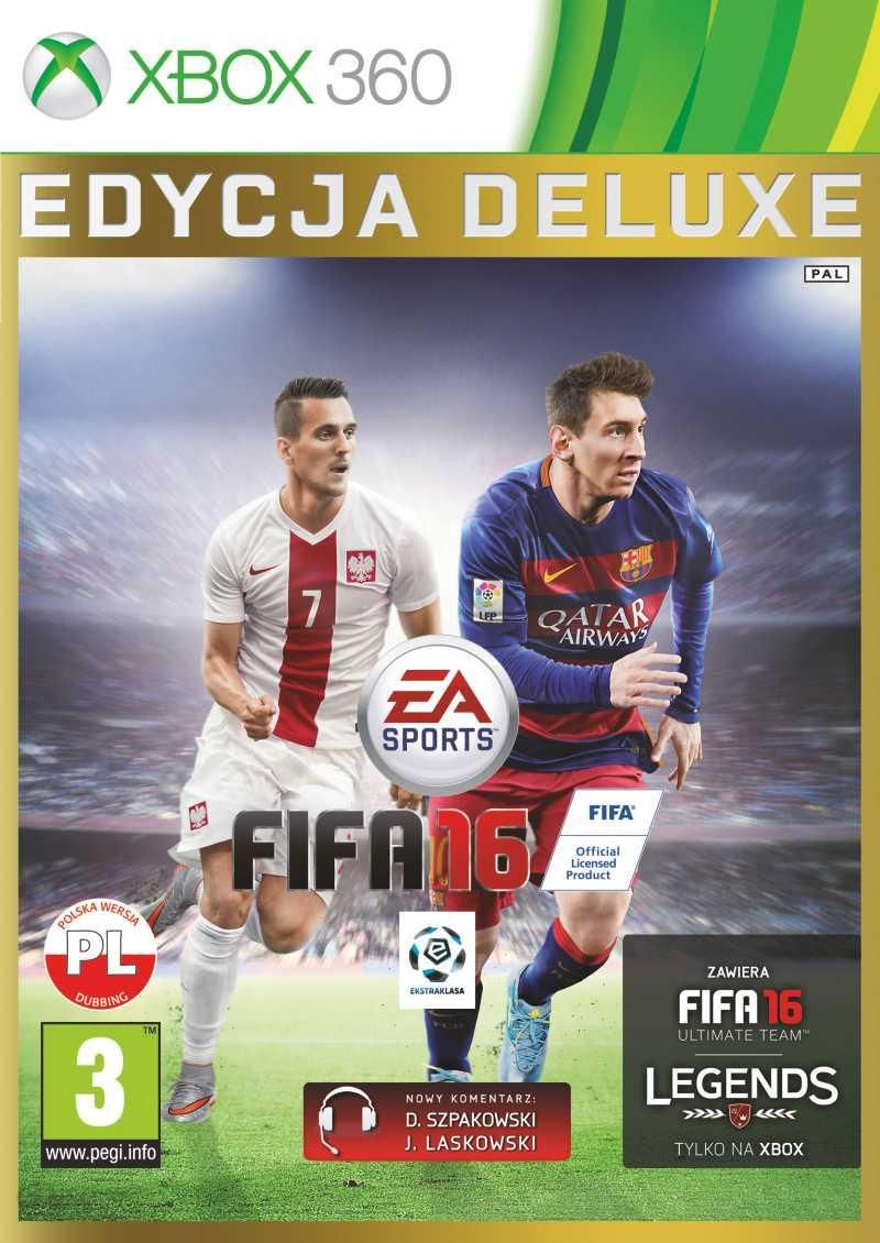 Fifa 16 Edycja Deluxe Gra Xbox 360 Ceneo Pl