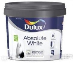 Dulux Absolute White Biała 5L