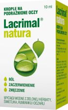 Lacrimal Natura krople do oczu 10 ml