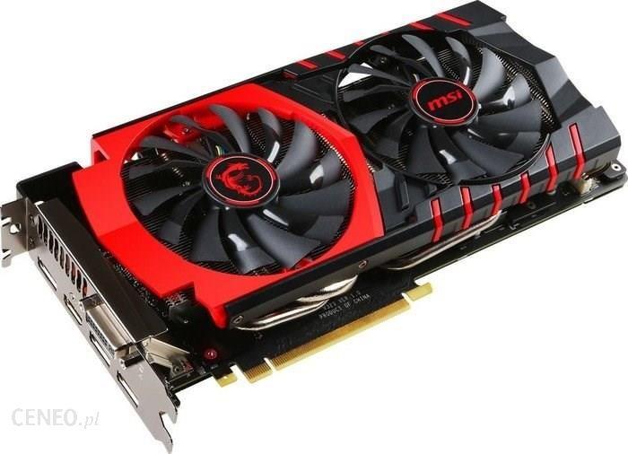 Msi Geforce Gtx 980 Ti Gaming Gtx980tigaming6g Karta Graficzna Opinie I Ceny Na Ceneo Pl