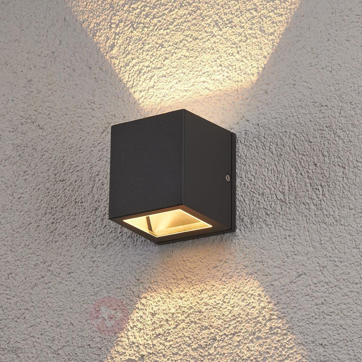 Lampenwelt Zewnętrzna Lampa ścienna Maurice Ip54 7052 Ceny I