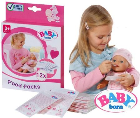 Zapf Creation Baby Born Pokarm 12 Szt 779170