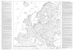 Kolorowanka Xxl Mapa Europy Mlodego Odkrywcy Ceny I Opinie