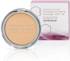 Dermaquest DermaMinerals Buildable Coverage Pressed Mineral Powder SPF 15 Peptydowo-mineralny puder prasowany 3N 9,1 g